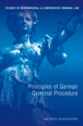 Principles of German Criminal Law - eBook