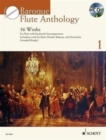 Baroque Flute Anthology + CD : 36 Works for Flute and Piano - Book