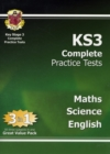 KS3 Complete Practice Tests - Maths, Science & English - Book