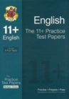 The 11+ English Practice Test Papers: Multiple Choice (for Gl & Other Test Providers) - Book