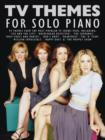 TV Themes For Solo Piano - Book