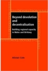 Beyond devolution and decentralisation : Building regional capacity in Wales and Brittany - eBook