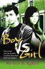 Boy Vs. Girl - Book