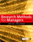 Research Methods for Managers - Book