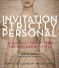 Invitation Strictly Personal - Book