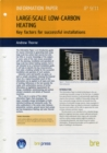 Large-scale Low-carbon Heating : Key Factors for Successful Installations - Book