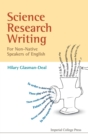 Science Research Writing For Non-native Speakers Of English - Book