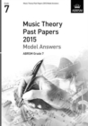 Music Theory Past Papers 2015 Model Answers, ABRSM Grade 7 - Book