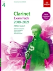 Clarinet Exam Pack 2018-2021, ABRSM Grade 4 : Selected from the 2018-2021 syllabus. Score & Part, Audio Downloads, Scales & Sight-Reading - Book