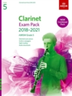 Clarinet Exam Pack 2018-2021 Grade 5 : Selected from the 2018-2021 Syllabus. Score & Part, Audio Downloads, Scales & Sight-Reading - Book