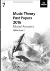 Music Theory Past Papers 2016 Model Answers, ABRSM Grade 8 - Book