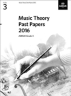 Music Theory Past Papers 2016, ABRSM Grade 3 - Book
