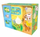 Farm Friends : Book, Jigsaw and Toy Set - Book