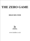 The Zero Game - eBook