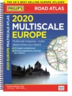 2020 Philip's Multiscale Europe : (A4 Spiral binding) - Book