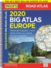 2020 Philip's Big Road Atlas Europe : (A3 Spiral binding) - Book