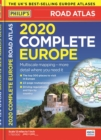 Philip's Complete Road Atlas Europe 2020 A4 : (A4 with practical 'flexi' cover) - Book