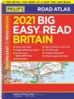 2021 Philip's Big Easy to Read Britain Road Atlas : (A3 Spiral binding) - Book