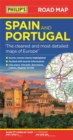 Philip's Spain and Portugal Road Map - Book
