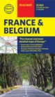 Philip's Road Map France and Belgium - Book
