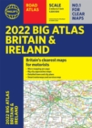 2022 Philip's Big Road Atlas Britain and Ireland : (A3 Paperback) - Book