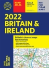 2022 Philip's Road Atlas Britain and Ireland : (A4 Paperback) - Book