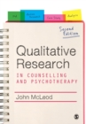 Qualitative Research in Counselling and Psychotherapy - Book