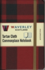 Waverley (M): MacGregor Tartan Cloth Commonplace Notebook - Book