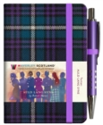 Auld Lang Syne Tartan Notebook (mini with pen) - Book