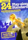 24 Play-Along Standards With A Live Rhythm Section - Trumpet - Book