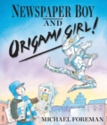 Newspaper Boy and Origami Girl - Book