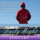 Daily Might : January - eAudiobook