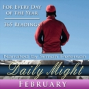 Daily Might : February - eAudiobook