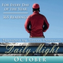 Daily Might : October - eAudiobook