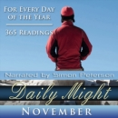 Daily Might : November - eAudiobook