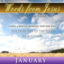 Words from Jesus : January - eAudiobook