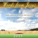 Words from Jesus : July - eAudiobook