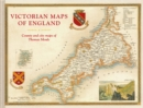 Victorian Maps of England : The county and city maps of Thomas Moule - Book