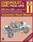 Chevrolet & GMC Pick-Ups (67 - 87) - Book
