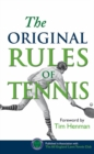The Original Rules of Tennis - Book
