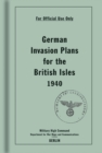 German Invasion Plans for the British Isles, 1940 - Book