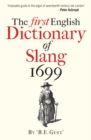 The First English Dictionary of Slang 1699 - Book