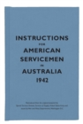 Instructions for American Servicemen in Australia, 1942 - Book