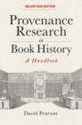 Provenance Research in Book History : A Handbook - Book