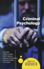 Criminal Psychology : A Beginner's Guide - Book