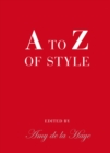 A to Z of Style - Book