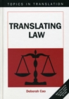 Translating Law - Book
