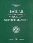 Jaguar E-Type 3.8/4.2 Series 1 and 2 Workshop Manual - Book