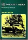 MG Midget 1500cc 1975-1979 - Book