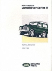 Land Rover Series 3 Parts Catalogue - Book